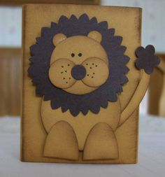 punched lion by Thomasedward - Cards and Paper Crafts at Splitcoaststampers