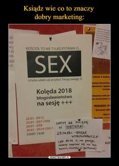 Ksiądz wie co to znaczy dobry marketing: