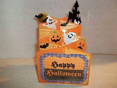 Beulah's Creations: Halloween Cascade Card