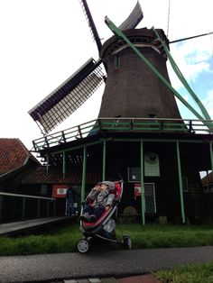 Amsterdam et ses moulins en Quinny !