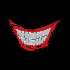 Check out this awesome 'Evil+Smile' design on - Check out this awesome 'Evil+Smile' design on Informationen zu Check out this awesom - Smile Wallpaper, Batman Wallpaper, Iphone Background Wallpaper, Joker Mouth, Joker Face, Joker Smile Tattoo, Black And White Art Drawing, Harley Y Joker, Smile Drawing
