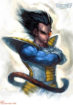 Realistic Vegeta - Visit now for 3D Dragon Ball Z compression shirts now on sale! #dragonball #dbz #dragonballsuper