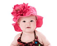 f6443d8e790 Buy your Raspberry Sun Hat with Peony by Jamie Rae Hats here. Shield your  little girl from the sun s harmful rays while keeping her classy with this  ...