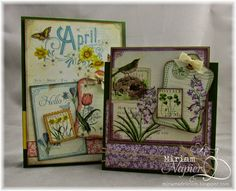 graphic 45 a time to flourish cards   Graphic 45 - Jump Into Spring