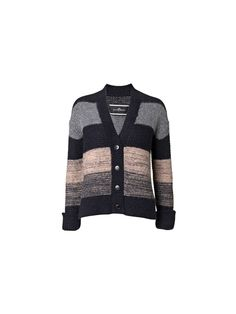 Alfia striped cardigan #knit inspiration