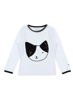 SONIA RYKIEL Girl's' T-shirt White 8 years