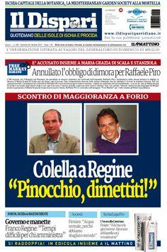 La copertina del 22 ottobre 2015 #ischia #ildispari