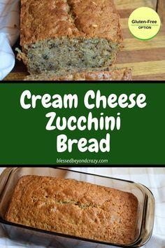 This is our all-time favorite zucchini bread recipe! Pumpkin Zucchini Bread, Zucchini Bread Muffins, Gluten Free Zucchini Bread, Zucchini Bread Recipes, Keto Bread, Bread Food, Healthy Zucchini, Yeast Bread, Bread Maker Recipes