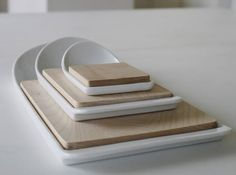 Cut & Paste cutting board by Klaus Häckl -  Functional!