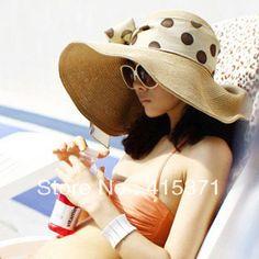 516b14814a3f3 Aliexpress.com   Buy New Korean style beach big sun shading hat summer women s  straw
