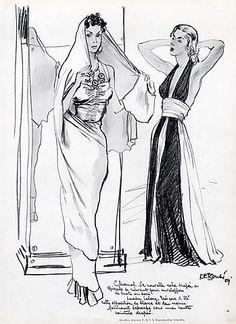 1939- Chanel sari dresses