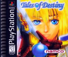 TALES OF DESTINY [1998]. Stahn Aileron, a stowaway on a giant dragon ship, finds a mysterious sword and becomes involved with a chain of events that threatens to destroy the very existence of his planet. Join Stahn and his friends as they travel the world seeking fame and fortune, while uncovering the secrets of an ancient civilization.