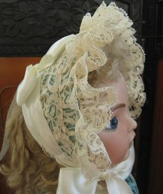 Dress Costume Hat for Antique French Doll BEBE by Jean Jackson   eBay. $525.00.