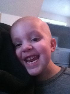 """Matthew is currently in treatment for acute lymphoblastic leukemia. His mother, Wendy Burr, writes: """"His treatment will last a total of 3 years and 3 months, which will be roughly half of his life by the time he's done."""""""