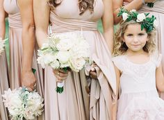 Rosewood Rose gold twobirds bridesmaid dresses  | a real wedding featuring our multi-way, convertible, twist wrap dress | Photography by Judy Park