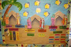 Hands On Bible Teacher: Abraham, Isaac and Jacob Bulletin Board--- PATRIAR...