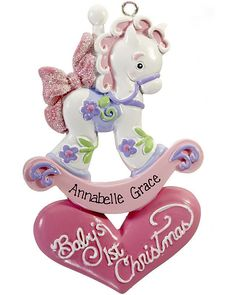 Image result for polymer clay first christmas ornaments