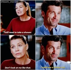 so happy this happened! Greys Anatomy Derek, Greys Anatomy Funny, Grey Anatomy Quotes, Grey's Anatomy, Greys Anatomy Episodes, Ingalls Family, Doctor Shows, Meredith And Derek, Grey Quotes