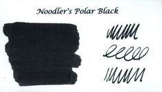 Noodler's Polar Black Ink (3oz Bottle) Fountain Pen Ink