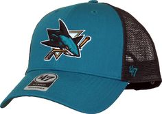 San Jose Sharks 47 Brand Branson MVP NHL Trucker Cap – lovemycap b6add295781