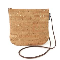 Sidekick Crossbody Bag in Cork Dash Gold | Each product we offer is made in our San Francisco studio. Ships in 1-2 business days. | spicerbags.com