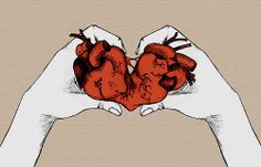 Image discovered by Sonet Providence . Find images and videos about love, art and heart on We Heart It - the app to get lost in what you love. Broken Heart Drawings, Broken Heart Art, Anatomical Heart Drawing, C Cassandra, Henn Kim, Dark Love, Heart Illustration, Dark Pictures, Heart Background