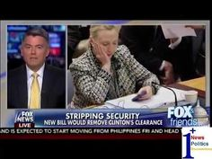 Stripping Security - New Bill Would Remove Clinton's Clearance - Fox & Friends | 1Plus News