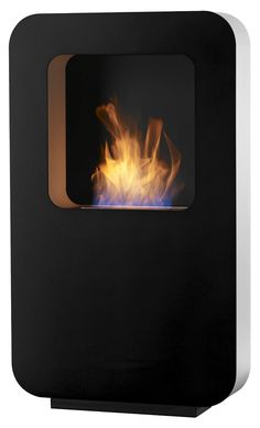 Curva XL Zwart Safretti Fireplace Collection - #Fireplace #InteriorDesign #Fire #Safretti