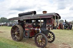 Queen Mary, Charles Burrell Showman's engine at the 2016 Weeting Steam Engine Rally & Country Show, owned and maintained by volunteers at the Charles Burrell Museum in Thetford. http://www.ktdesign-web.co.uk/blog/the-2016-weeting-steam-engine-rally-country-show