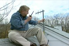 Learn how to enhance your cell phone reception by installing a cell phone repeater tower. #diy
