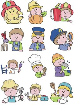 12 occupation Embroidery Designs