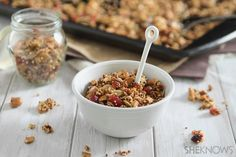 Eat like a CEO: Food to fuel a busy day (quinoa cashew cranberry granola)