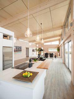 Lockwood Homes Kitchen Design - roofline idea Design Your Home, House Design, Kitchen Board, Kitchen Design, Kitchen Ideas, Home Kitchens, Dream Kitchens, New Home Builders, Home Renovation