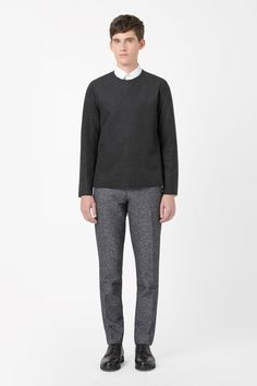 COS | Round-neck wool top