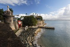 View Of The Main Gate Of The City With The City Walls Old San Juan Puerto Rico Photograph by George Oze