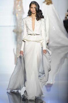 Coordinato sposa Zuhair MuradVestito nuziale haute couture con giacca primavera/estate 2015