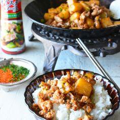 ご飯が止まらなーい! 鶏ひき肉と長芋のオイマヨ炒め 8分でコッテリしゃき旨