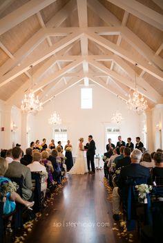 Villa Blanca Ceremony at The White Room, St. Augustine, Florida Karen + Rob Wedding   Stephie Joy   St. Augustine Wedding Photographer »