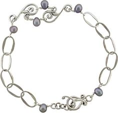 Silver Bracelet Clasp available at Nina Designs. Visit us for all your jewelry making supplies!