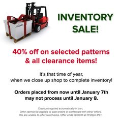 Time for our post-Christmas inventory sale! Selected patterns and all clearance items receive an additional 40% off in the cart. Please note that orders may not process until January 8th due to our inventory schedule! http://noritakechina.com/selected-patterns.html