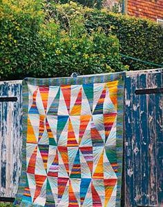 Additional Images of Kaffe Fassett Quilts Shots & Stripes by Kafee Fassett - ConnectingThreads.com
