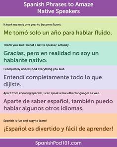 Spanish Sentences, Spanish Phrases, Spanish Grammar, Spanish Vocabulary, Spanish Language Learning, English Phrases, Spanish Practice, Learn To Speak Spanish, Learn English