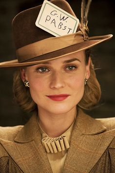"Diane Kruger portrays the character of Bridget von Hammersmark in the movie ""Inglorious Basterds""........."