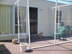 """The Very Best Cats: The Making of a """"Catio"""" (Outdoor Enclosure for Our Cats)"""