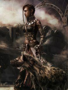 Steampunk Witch Doctor by Angelique Shelley Black Girl Art, Black Women Art, Art Girl, Black Characters, Female Characters, Fantasy Characters, Character Portraits, Character Art, Character Ideas