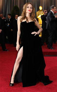 Angelina Jolie at the Oscars 2012