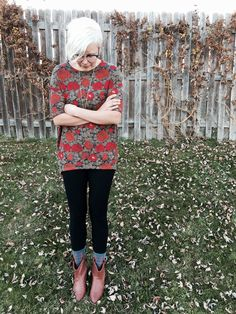 Nice Cute School Outfits LuLaRoe Irma tunic and leggings with short boots and patterned socks. Join our ... Check more at http://24store.ml/fashion/cute-school-outfits-lularoe-irma-tunic-and-leggings-with-short-boots-and-patterned-socks-join-our/