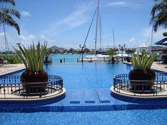 Our home base... The Wharf Hotel and Marina.