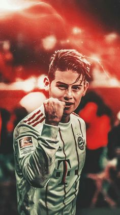 Pictures of James Rodriguez Best Football Players, Football Art, Soccer Players, James Rodriguez Wallpapers, James Rodrigez, Bayern Munich Wallpapers, Sport Model, Mbappe Psg, Cristiano Ronaldo Wallpapers