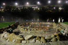 Thermal Springs, Ourense,  Galicia, Spain - spent many evenings hanging out with friends here!